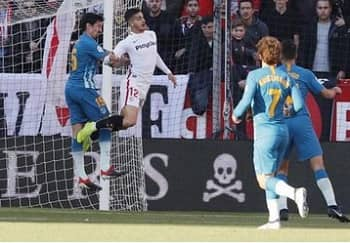 Sevilla 1 - 1 Atletico Madrid